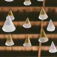 Paper Cone Wedding Decor