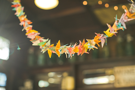 Colorful Origami Garland