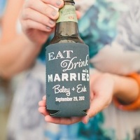 Personalized drink coozies