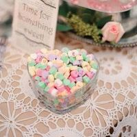 Heart Candies in a Heart Dish