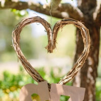 Heart Shaped Branch Wreath