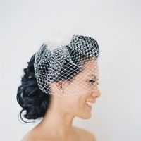 Old Glam Wedding Veil