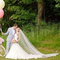 Glam Bridal Veil