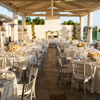 Terrace Wedding Reception
