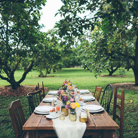 Rustic Outdoor Reception