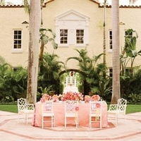 Preppy Wedding Reception