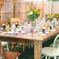 Lovely Backyard Reception