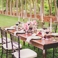 Romantic Garden Tablescape