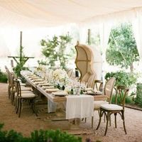 Elegant Tented Reception