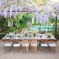 Pretty Garden Reception