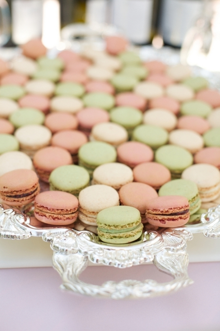 Multicolored Macarons