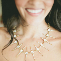 Edgy Bridesmaid Jewelry