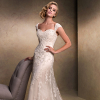 Mermaid-One-Shoulder-Sweep-Train-Organza-Prom-Dress-With-Ruffle-Beading