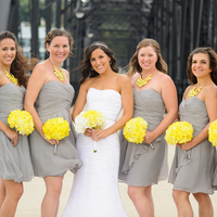 Chic Bridesmaid Style