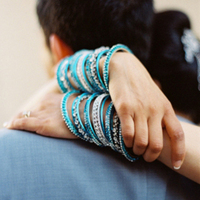 Preppy Spring Bangle Bracelets