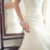 Modern Bridal Bracelet