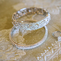Old Glam Bridal Bracelet