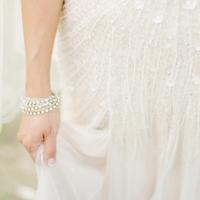 Trendy Rhinestone Bracelet