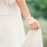 Simple Traditional Bridal Bracelet