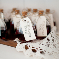 Sweet Homemade Vanilla Favors