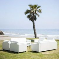 White Beach Lounge Furniture