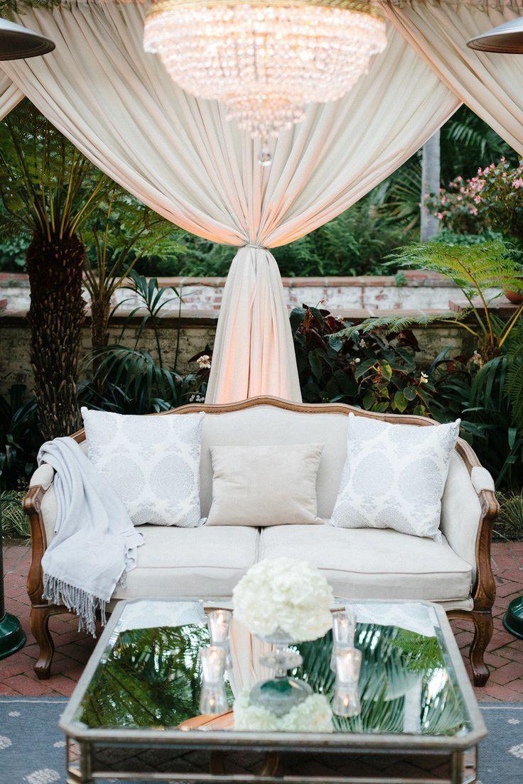 Wedding Cocktail Lounge Decor