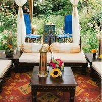 Tented Reception Lounge