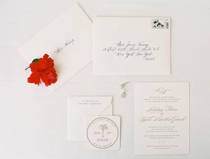 Classy Elegant Invitations