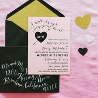 Glitzy Glam Invitations