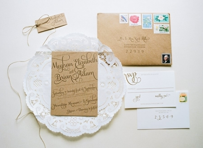 Modern Rustic Invitations