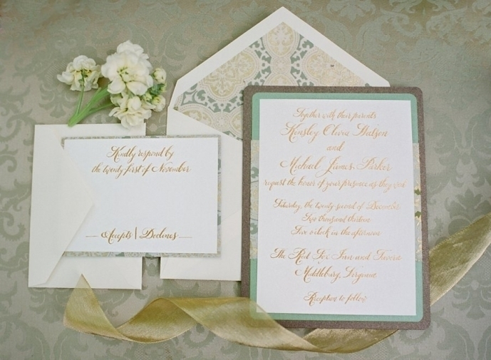 Glam Elegant Invitations