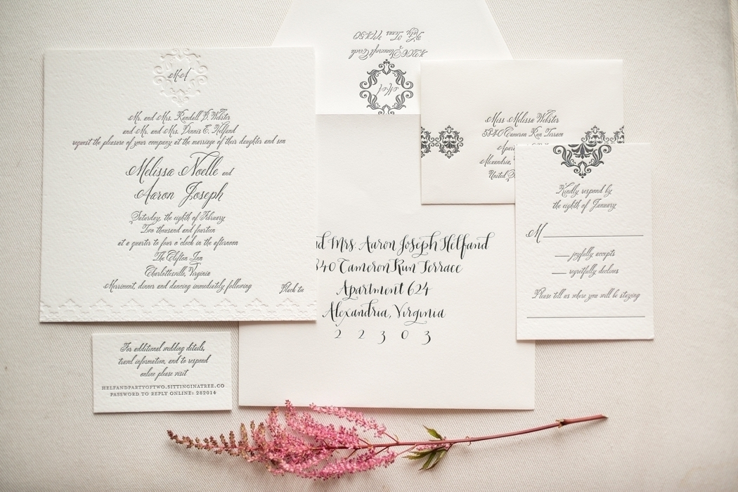 Simple & Classic Wedding Invites