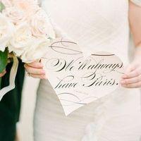 Parisian Wedding Signage