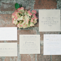 Fancy Font Wedding Invites