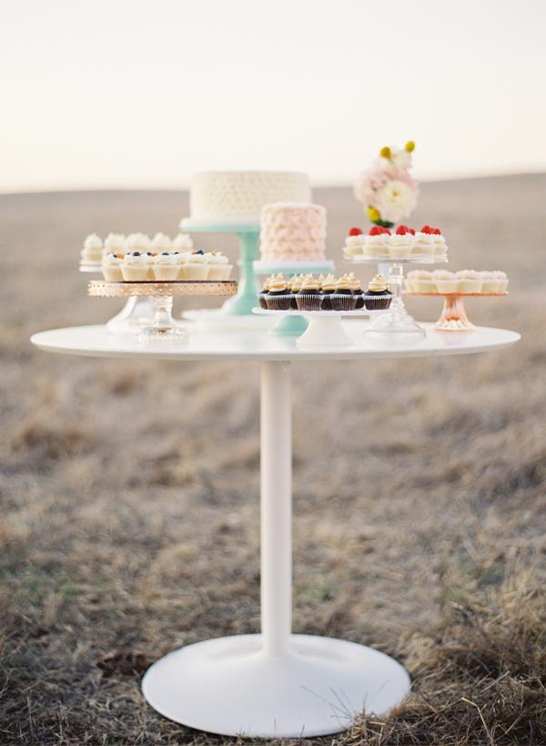 Cupcake Dessert Display