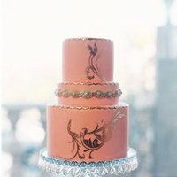Pink Modern Wedding Cake