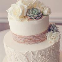 Rustic-Chic Cake