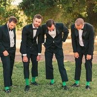 Bright Green Socks