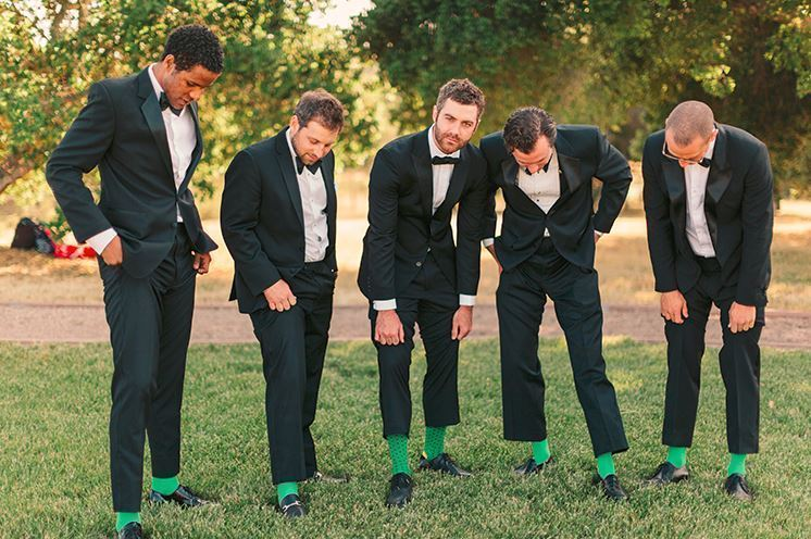 Bright Green Socks