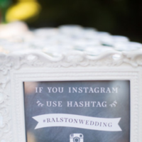 Hashtag Instagram Sign