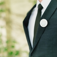 Button Pin Boutonniere