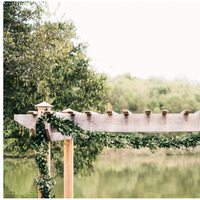 Wooden Ceremony Arch