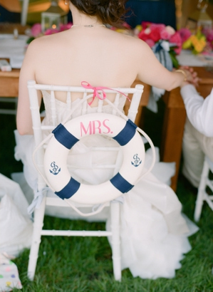 Nautical Chair Decor