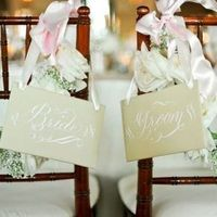 Shabby Chic Chair Signs