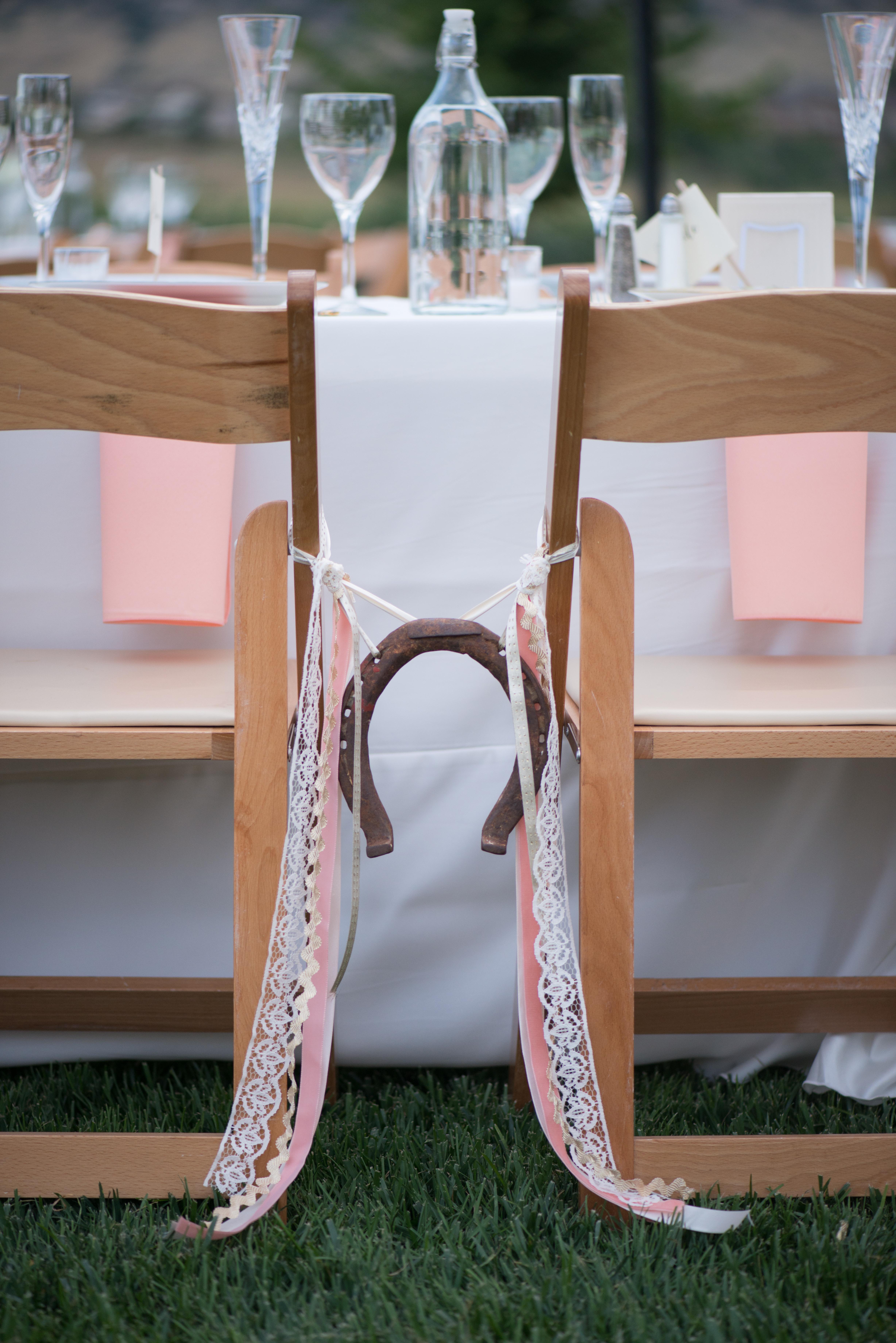 Horseshoe Chair Decor