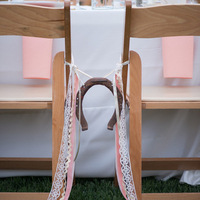 Horseshoe Chair Decor