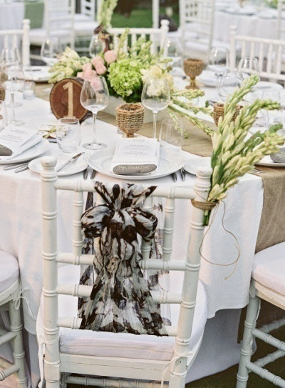 Shawl Chair Decor