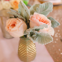 Rose Centerpieces