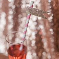 Sparkly Straws