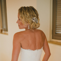 Tousled Beach Wedding Hair